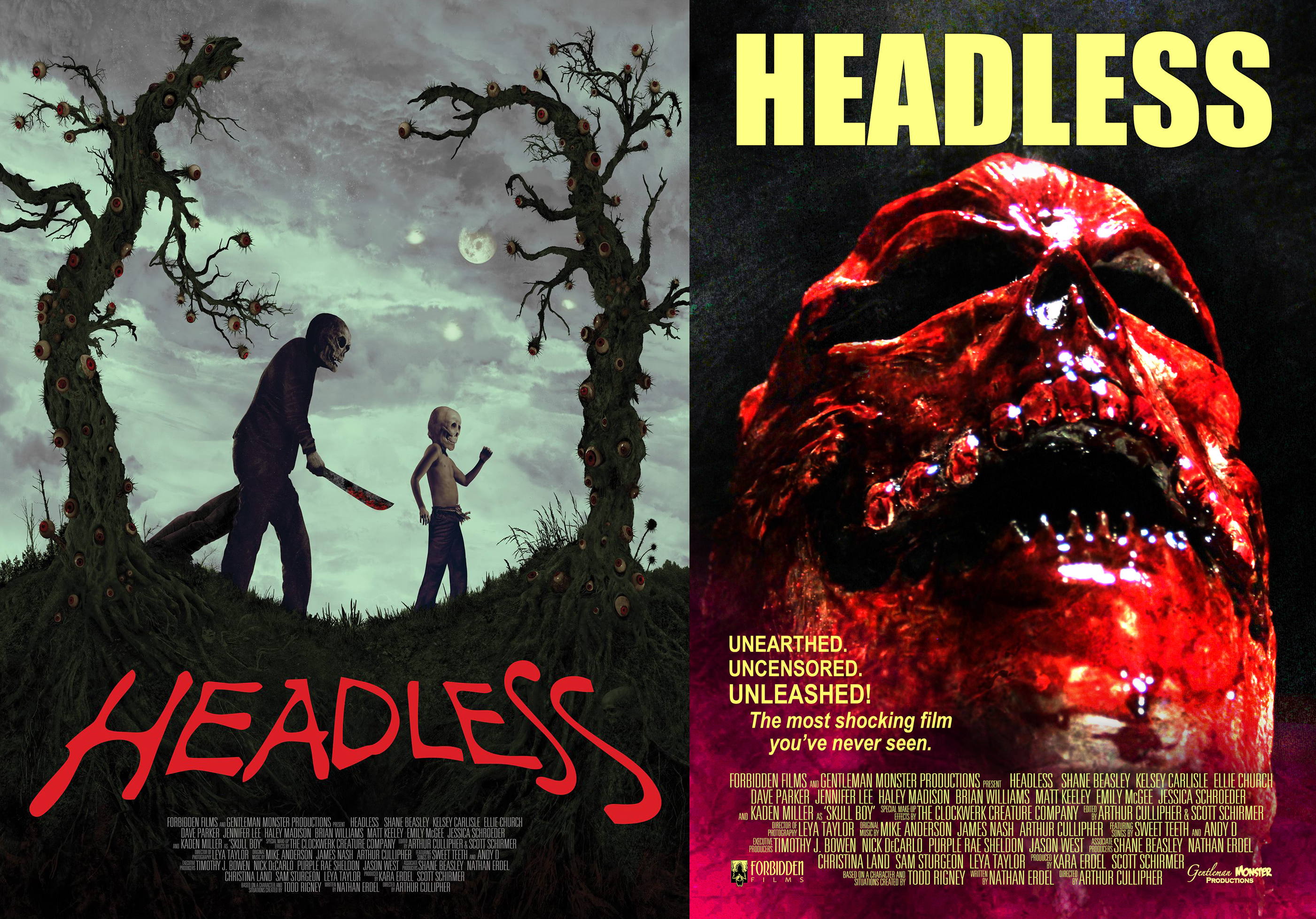 Horror Movies 2018 Poster: Fitz Of Horror Movie Review-HEADLESS